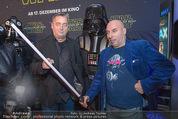 Star Wars - das Erwachen der Macht Kinopremiere - Cineplexx Donauplex - Mi 16.12.2015 - Andreas VITASEK, Christoph F�LBL65