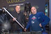 Star Wars - das Erwachen der Macht Kinopremiere - Cineplexx Donauplex - Mi 16.12.2015 - Andreas VITASEK, Christoph F�LBL66