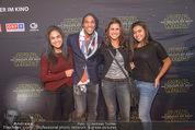 Star Wars - das Erwachen der Macht Kinopremiere - Cineplexx Donauplex - Mi 16.12.2015 - Familie Alemande BELFOR mit Ehefrau und Kindern78