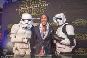 Star Wars - das Erwachen der Macht Kinopremiere - Cineplexx Donauplex - Mi 16.12.2015 - Alemande BELFOR80