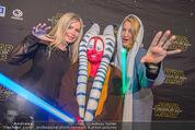 Star Wars - das Erwachen der Macht Kinopremiere - Cineplexx Donauplex - Mi 16.12.2015 - Diana LUEGER, Claudia REITERER90