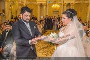 Anna Netrebko Hochzeit - Trauung - Palais Coburg - Di 29.12.2015 - Anna NETREBKO, Yusif EYVAZOV tauschen Ringe105