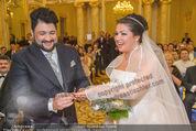 Anna Netrebko Hochzeit - Trauung - Palais Coburg - Di 29.12.2015 - Anna NETREBKO, Yusif EYVAZOV tauschen Ringe107