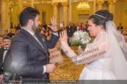 Anna Netrebko Hochzeit - Trauung - Palais Coburg - Di 29.12.2015 - Anna NETREBKO, Yusif EYVAZOV tauschen Ringe109