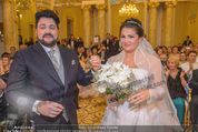 Anna Netrebko Hochzeit - Trauung - Palais Coburg - Di 29.12.2015 - Anna NETREBKO, Yusif EYVAZOV (Ehepaar)110