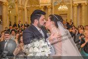 Anna Netrebko Hochzeit - Trauung - Palais Coburg - Di 29.12.2015 - Anna NETREBKO, Yusif EYVAZOV (Ehepaar)112