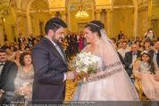 Anna Netrebko Hochzeit - Trauung - Palais Coburg - Di 29.12.2015 - Anna NETREBKO, Yusif EYVAZOV (Ehepaar)116