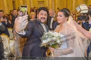 Anna Netrebko Hochzeit - Trauung - Palais Coburg - Di 29.12.2015 - Anna NETREBKO, Yusif EYVAZOV taking Selfie128