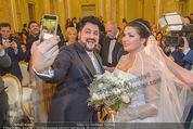 Anna Netrebko Hochzeit - Trauung - Palais Coburg - Di 29.12.2015 - Anna NETREBKO, Yusif EYVAZOV taking Selfie129