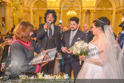 Anna Netrebko Hochzeit - Trauung - Palais Coburg - Di 29.12.2015 - Anna NETREBKO, Yusif EYVAZOV (Ehepaar)130