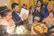 Anna Netrebko Hochzeit - Trauung - Palais Coburg - Di 29.12.2015 - Anna NETREBKO, Yusif EYVAZOV (Ehepaar)133