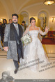 Anna Netrebko Hochzeit - Trauung - Palais Coburg - Di 29.12.2015 - Anna NETREBKO, Yusif EYVAZOV (Ehepaar)150