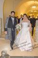 Anna Netrebko Hochzeit - Trauung - Palais Coburg - Di 29.12.2015 - Anna NETREBKO, Yusif EYVAZOV (Ehepaar)153