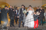 Anna Netrebko Hochzeit - Trauung - Palais Coburg - Di 29.12.2015 - Anna NETREBKO mit Sohn Tiago, Yusif EYVAZOV157