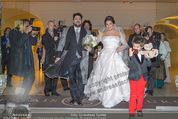 Anna Netrebko Hochzeit - Trauung - Palais Coburg - Di 29.12.2015 - Anna NETREBKO mit Sohn Tiago, Yusif EYVAZOV158
