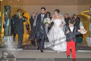 Anna Netrebko Hochzeit - Trauung - Palais Coburg - Di 29.12.2015 - Anna NETREBKO mit Sohn Tiago, Yusif EYVAZOV159