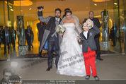 Anna Netrebko Hochzeit - Trauung - Palais Coburg - Di 29.12.2015 - Anna NETREBKO mit Sohn Tiago, Yusif EYVAZOV160