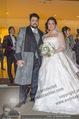 Anna Netrebko Hochzeit - Trauung - Palais Coburg - Di 29.12.2015 - Anna NETREBKO, Yusif EYVAZOV (Ehepaar)167