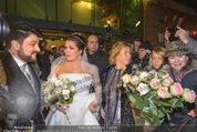 Anna Netrebko Hochzeit - Trauung - Palais Coburg - Di 29.12.2015 - Anna NETREBKO, Yusif EYVAZOV (Ehepaar)173