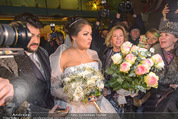 Anna Netrebko Hochzeit - Trauung - Palais Coburg - Di 29.12.2015 - Anna NETREBKO, Yusif EYVAZOV (Ehepaar)174