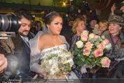 Anna Netrebko Hochzeit - Trauung - Palais Coburg - Di 29.12.2015 - Anna NETREBKO, Yusif EYVAZOV (Ehepaar)175