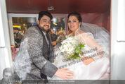 Anna Netrebko Hochzeit - Trauung - Palais Coburg - Di 29.12.2015 - Anna NETREBKO, Yusif EYVAZOV (Ehepaar)179