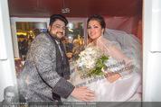 Anna Netrebko Hochzeit - Trauung - Palais Coburg - Di 29.12.2015 - Anna NETREBKO, Yusif EYVAZOV (Ehepaar)180