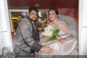 Anna Netrebko Hochzeit - Trauung - Palais Coburg - Di 29.12.2015 - Anna NETREBKO, Yusif EYVAZOV (Ehepaar)181
