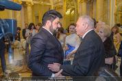 Anna Netrebko Hochzeit - Trauung - Palais Coburg - Di 29.12.2015 - Yusif EYVAZOV mit Yuri (Vater von Anna Netrebko)21