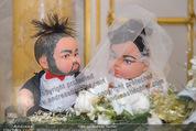 Anna Netrebko Hochzeit - Trauung - Palais Coburg - Di 29.12.2015 - Puppen Anna und Yusif3