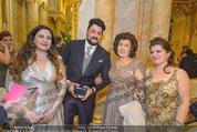 Anna Netrebko Hochzeit - Trauung - Palais Coburg - Di 29.12.2015 - Yusif EYVAZOV mit Mutter Shafiga31