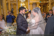 Anna Netrebko Hochzeit - Trauung - Palais Coburg - Di 29.12.2015 - Anna NETREBKO, Yusif EYVAZOV (Ehepaar)66