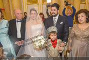 Anna Netrebko Hochzeit - Trauung - Palais Coburg - Di 29.12.2015 - Anna NETREBKO Sohn Tiago Vater Yuri Yusif EYVAZOV Mutter Shafiga67