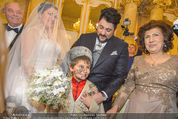 Anna Netrebko Hochzeit - Trauung - Palais Coburg - Di 29.12.2015 - Anna NETREBKO Sohn Tiago Vater Yuri Yusif EYVAZOV Mutter Shafiga68