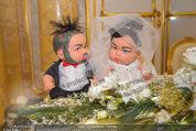 Anna Netrebko Hochzeit - Trauung - Palais Coburg - Di 29.12.2015 - Puppen Anna und Yusif7