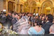 Anna Netrebko Hochzeit - Trauung - Palais Coburg - Di 29.12.2015 - Anna NETREBKO, Yusif EYVAZOV (Ehepaar)71