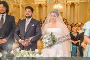 Anna Netrebko Hochzeit - Trauung - Palais Coburg - Di 29.12.2015 - Anna NETREBKO, Yusif EYVAZOV (Ehepaar)78