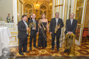 Anna Netrebko Hochzeit - Trauung - Palais Coburg - Di 29.12.2015 - Musik, Band8