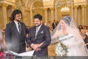 Anna Netrebko Hochzeit - Trauung - Palais Coburg - Di 29.12.2015 - Anna NETREBKO, Yusif EYVAZOV (Ehepaar)82