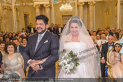 Anna Netrebko Hochzeit - Trauung - Palais Coburg - Di 29.12.2015 - Anna NETREBKO, Yusif EYVAZOV (Ehepaar)83