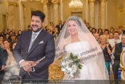 Anna Netrebko Hochzeit - Trauung - Palais Coburg - Di 29.12.2015 - Anna NETREBKO, Yusif EYVAZOV (Ehepaar)85