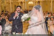 Anna Netrebko Hochzeit - Trauung - Palais Coburg - Di 29.12.2015 - Anna NETREBKO, Yusif EYVAZOV (Ehepaar)92