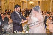 Anna Netrebko Hochzeit - Trauung - Palais Coburg - Di 29.12.2015 - Anna NETREBKO, Yusif EYVAZOV (Ehepaar)93