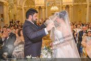 Anna Netrebko Hochzeit - Trauung - Palais Coburg - Di 29.12.2015 - Anna NETREBKO, Yusif EYVAZOV (Ehepaar)94