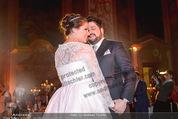 Anna Netrebko Hochzeit - Feier - Palais Liechtenstein - Di 29.12.2015 - Anna NETREBKO, Yusif EYVAZOV beim Er�ffnungstanz, tanzen107