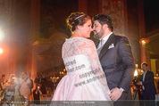 Anna Netrebko Hochzeit - Feier - Palais Liechtenstein - Di 29.12.2015 - Anna NETREBKO, Yusif EYVAZOV beim Er�ffnungstanz, tanzen108