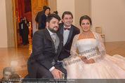 Anna Netrebko Hochzeit - Feier - Palais Liechtenstein - Di 29.12.2015 - Anna NETREBKO, Yusif EYVAZOV129