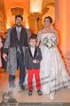 Anna Netrebko Hochzeit - Feier - Palais Liechtenstein - Di 29.12.2015 - Anna NETREBKO mit Sohn Tiago, Yusif EYVAZOV13