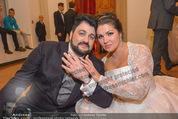 Anna Netrebko Hochzeit - Feier - Palais Liechtenstein - Di 29.12.2015 - Anna NETREBKO, Yusif EYVAZOV132