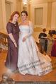 Anna Netrebko Hochzeit - Feier - Palais Liechtenstein - Di 29.12.2015 - Irina VITJAZ (Designerin des Kleides), Anna NETREBKO134
